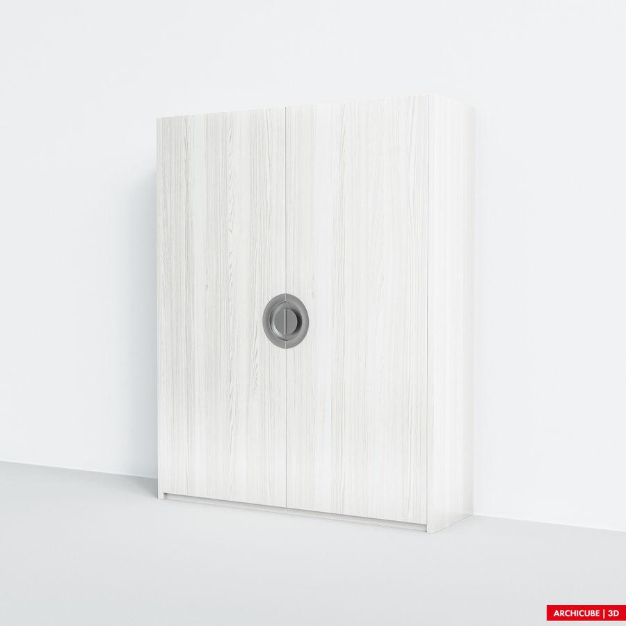 梳妆台 royalty-free 3d model - Preview no. 3