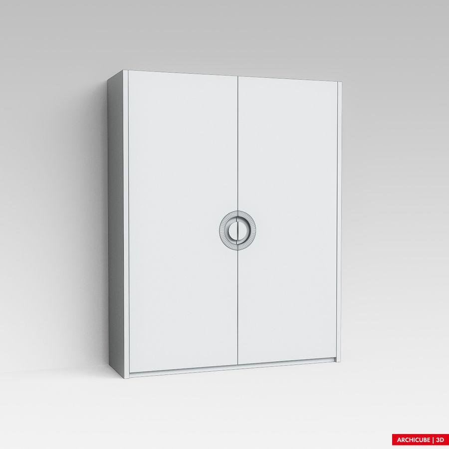 梳妆台 royalty-free 3d model - Preview no. 6