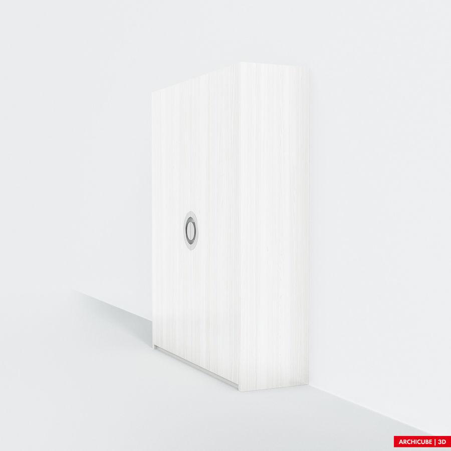 梳妆台 royalty-free 3d model - Preview no. 4