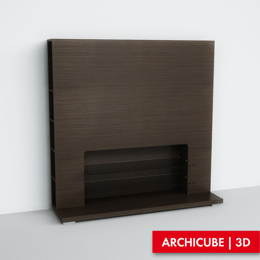 Furniture for TV royalty-free 3d model - Preview no. 1
