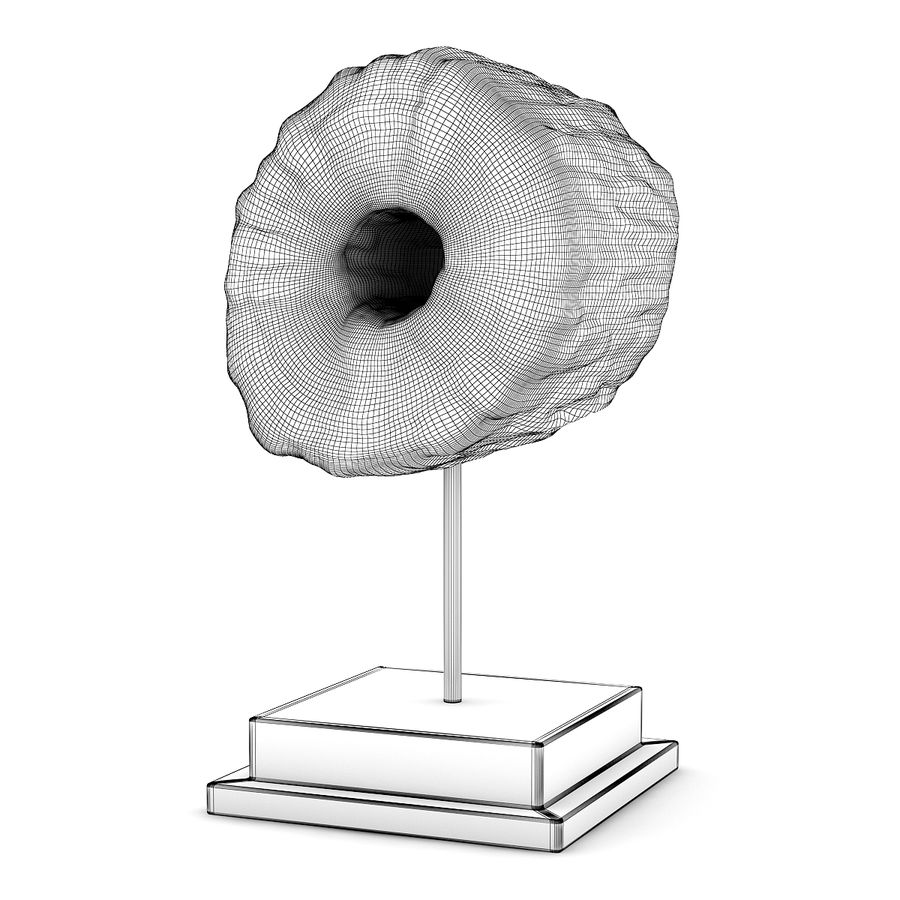 Drewniana figura z bali royalty-free 3d model - Preview no. 2