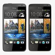 HTC Desire 300 all color 3d model
