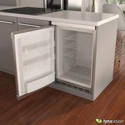 博世紧凑型冰箱 3d model