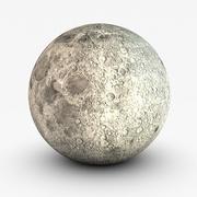 Månen 3d model