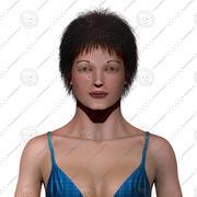Podstawowy model kobiety 3d model