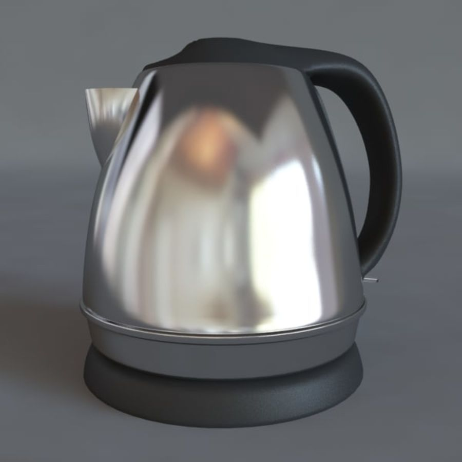 Moderne keuken royalty-free 3d model - Preview no. 10
