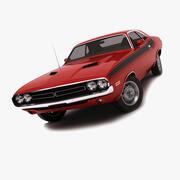 Utmanare 1974 3d model