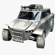 ACP729 Resistance Light Assault & Recon Vehicle 3d model