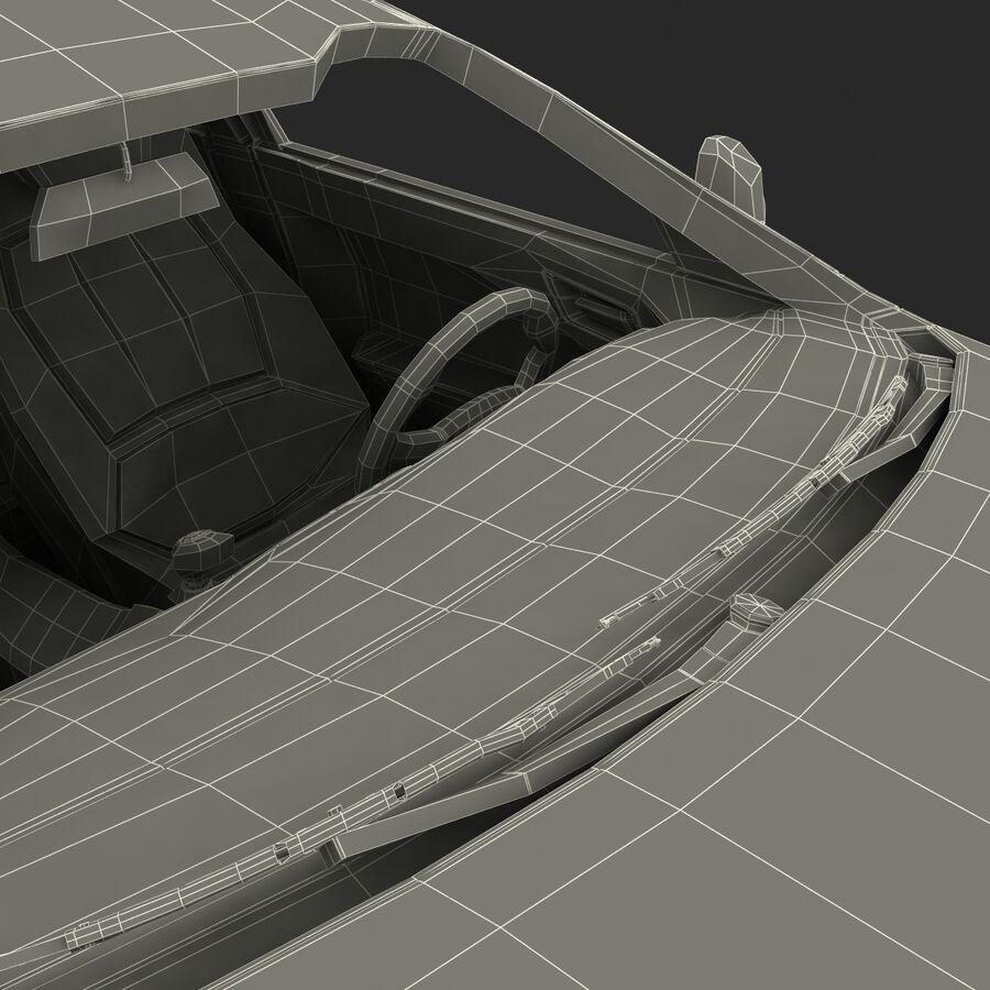Kia Optima 2011 royalty-free 3d model - Preview no. 81