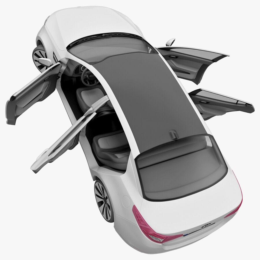 Kia Optima 2011 royalty-free 3d model - Preview no. 65