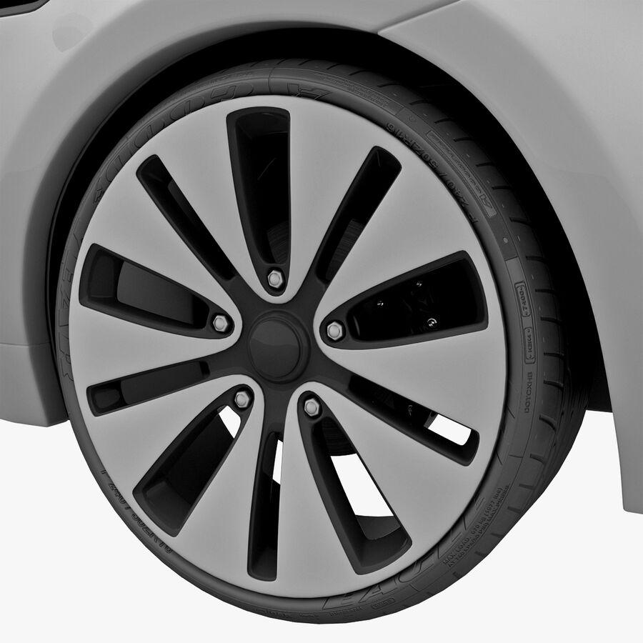 Kia Optima 2011 royalty-free 3d model - Preview no. 31