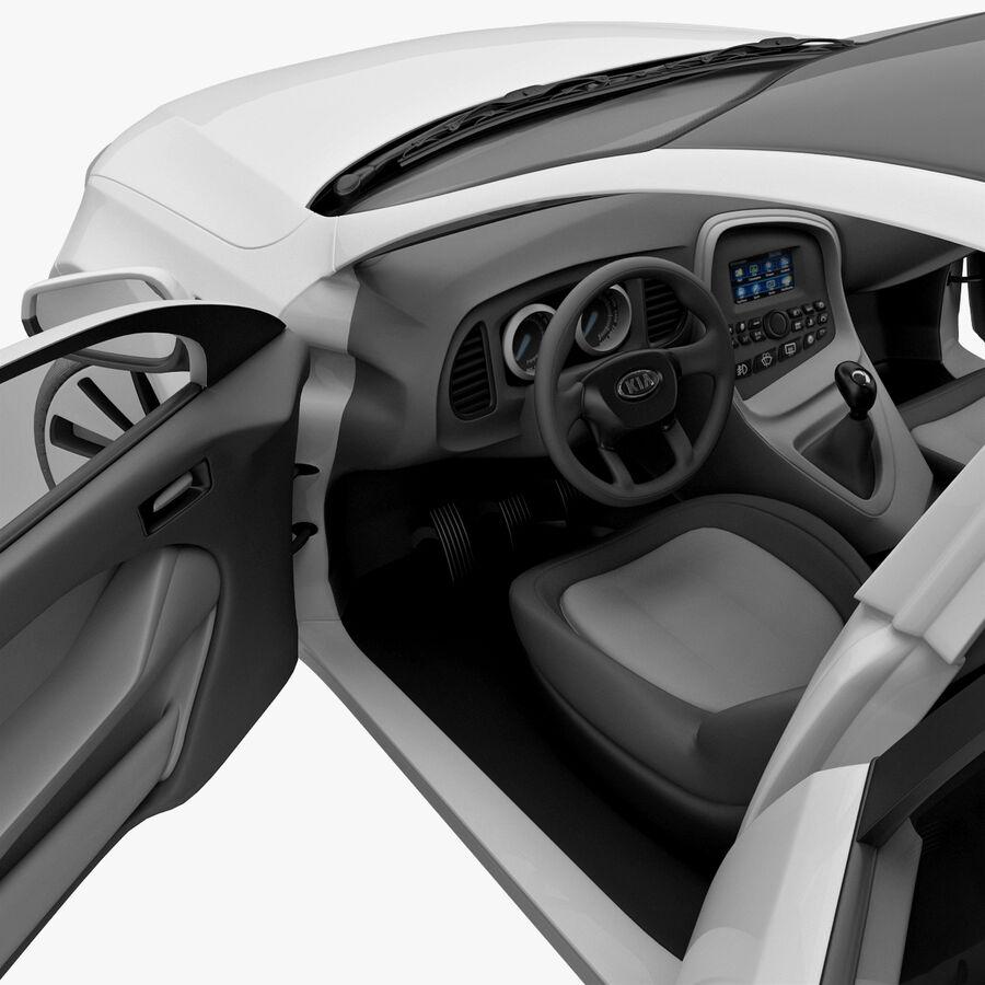Kia Optima 2011 royalty-free 3d model - Preview no. 69