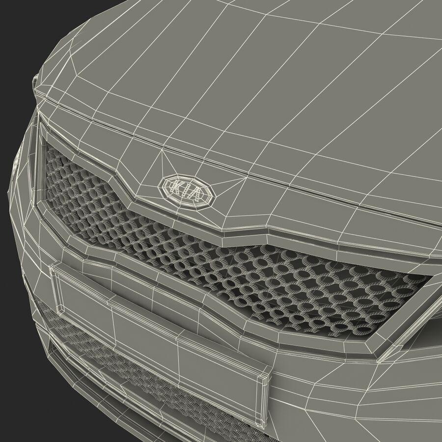 Kia Optima 2011 royalty-free 3d model - Preview no. 87