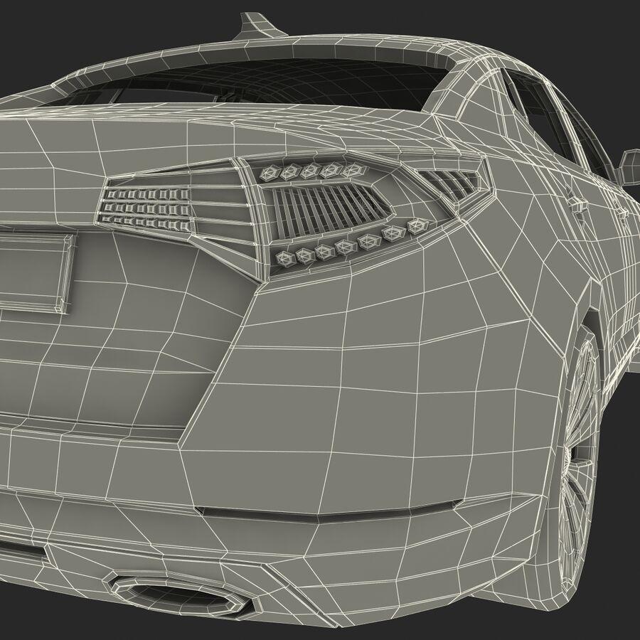 Kia Optima 2011 royalty-free 3d model - Preview no. 89