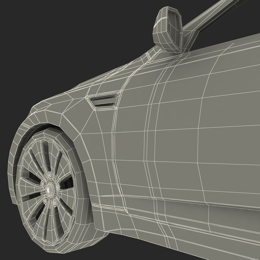 Kia Optima 2011 royalty-free 3d model - Preview no. 88
