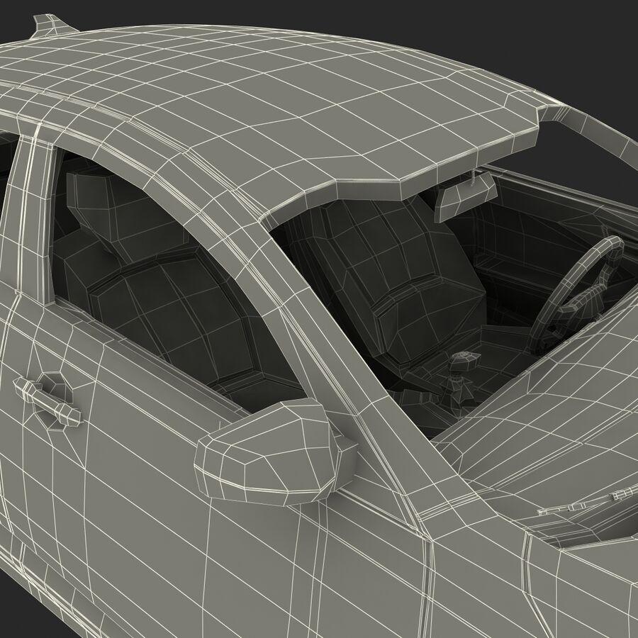 Kia Optima 2011 royalty-free 3d model - Preview no. 91