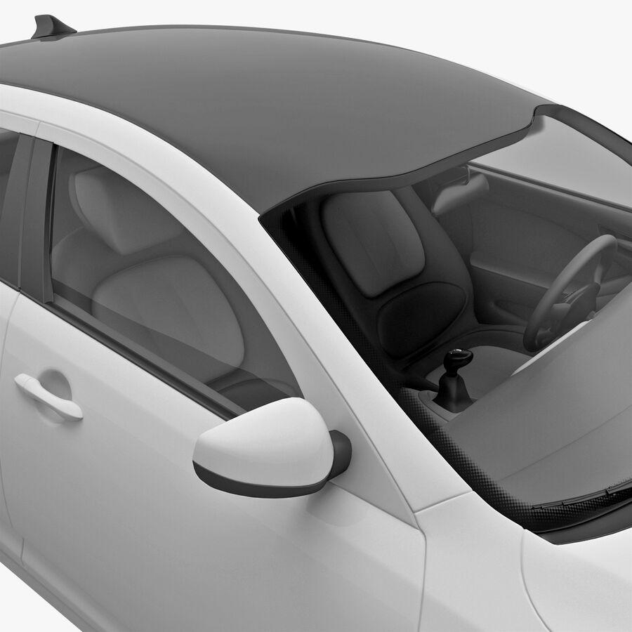 Kia Optima 2011 royalty-free 3d model - Preview no. 44