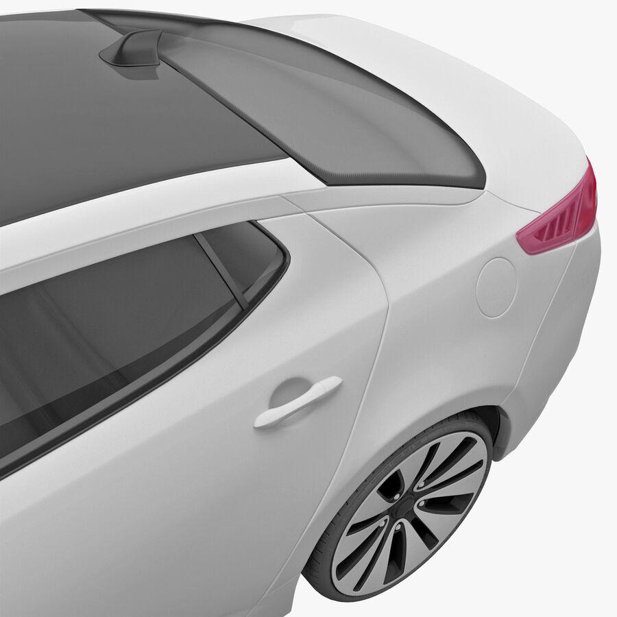 Kia Optima 2011 royalty-free 3d model - Preview no. 37