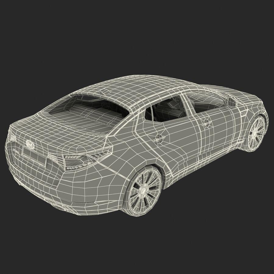 Kia Optima 2011 royalty-free 3d model - Preview no. 73