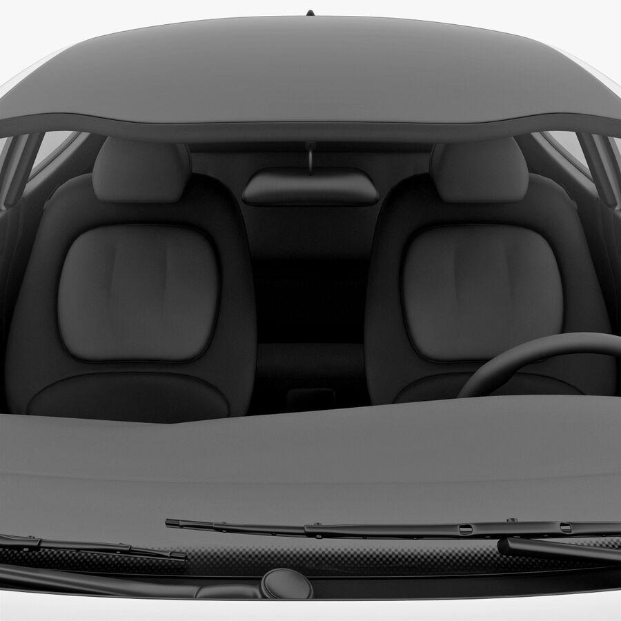 Kia Optima 2011 royalty-free 3d model - Preview no. 43
