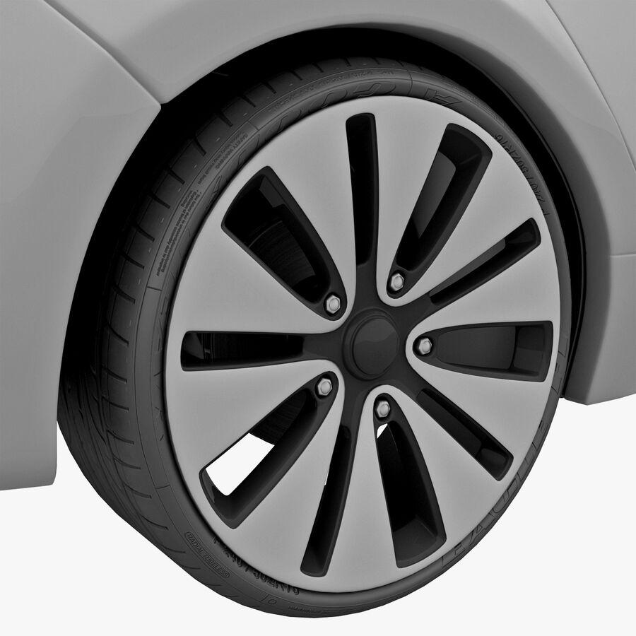 Kia Optima 2011 royalty-free 3d model - Preview no. 32