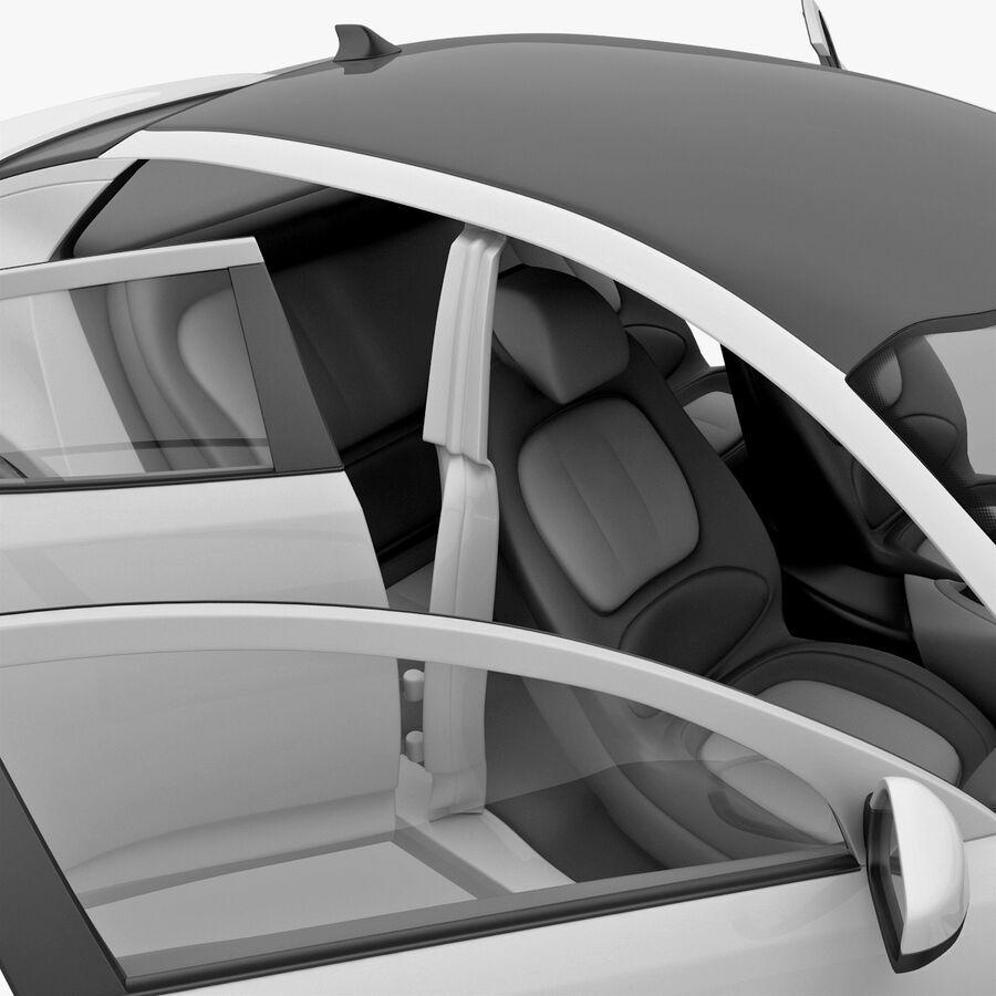 Kia Optima 2011 royalty-free 3d model - Preview no. 71