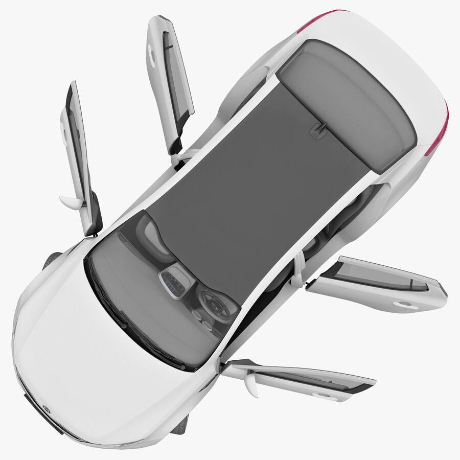 Kia Optima 2011 royalty-free 3d model - Preview no. 57