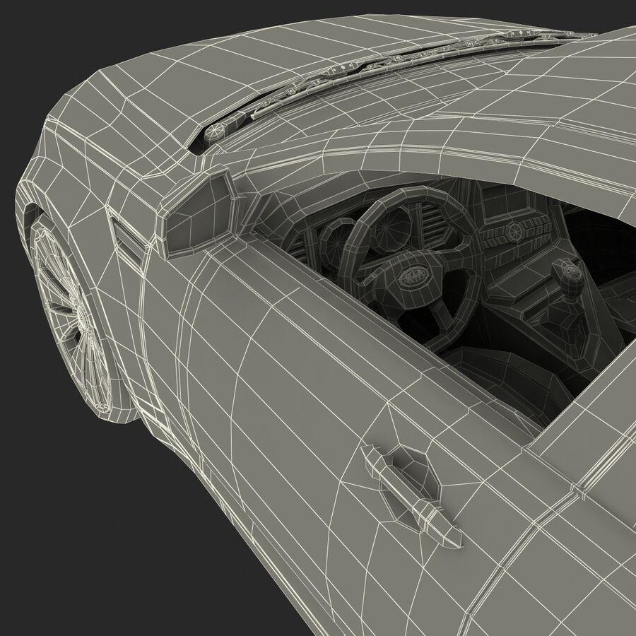 Kia Optima 2011 royalty-free 3d model - Preview no. 86