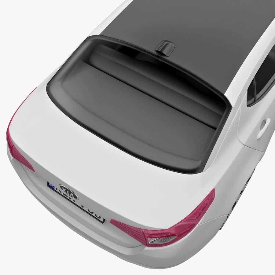 Kia Optima 2011 royalty-free 3d model - Preview no. 34