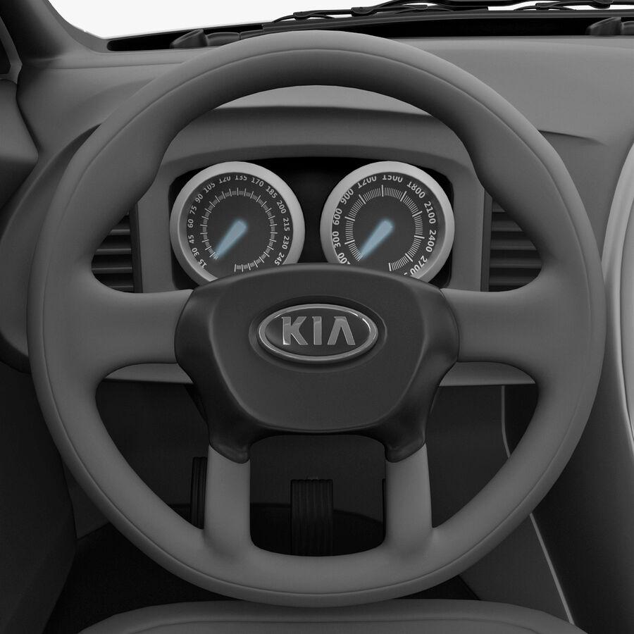 Kia Optima 2011 royalty-free 3d model - Preview no. 50