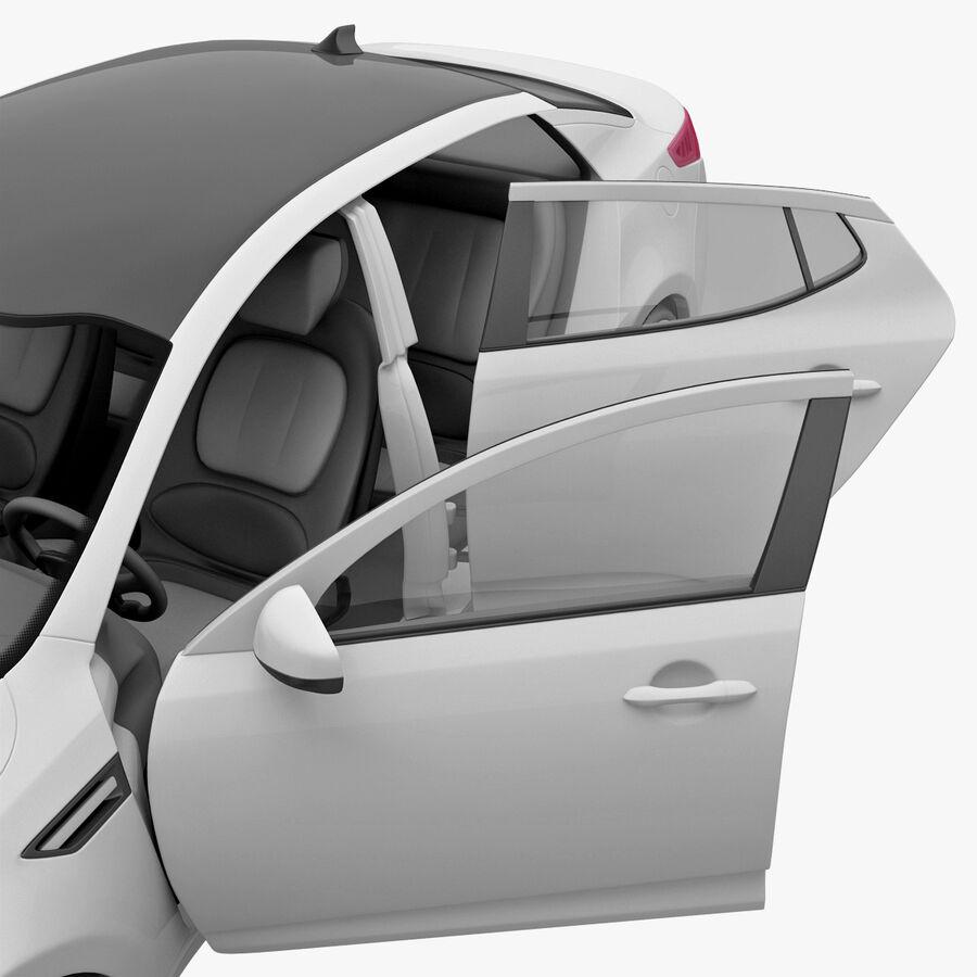 Kia Optima 2011 royalty-free 3d model - Preview no. 70