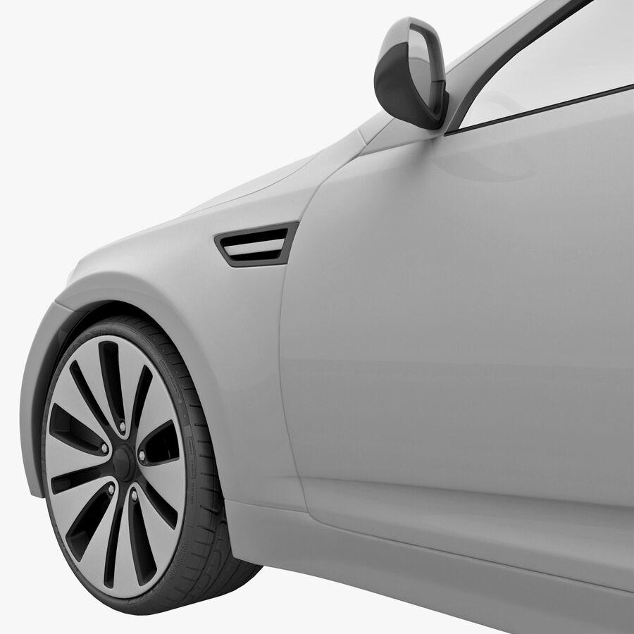 Kia Optima 2011 royalty-free 3d model - Preview no. 40