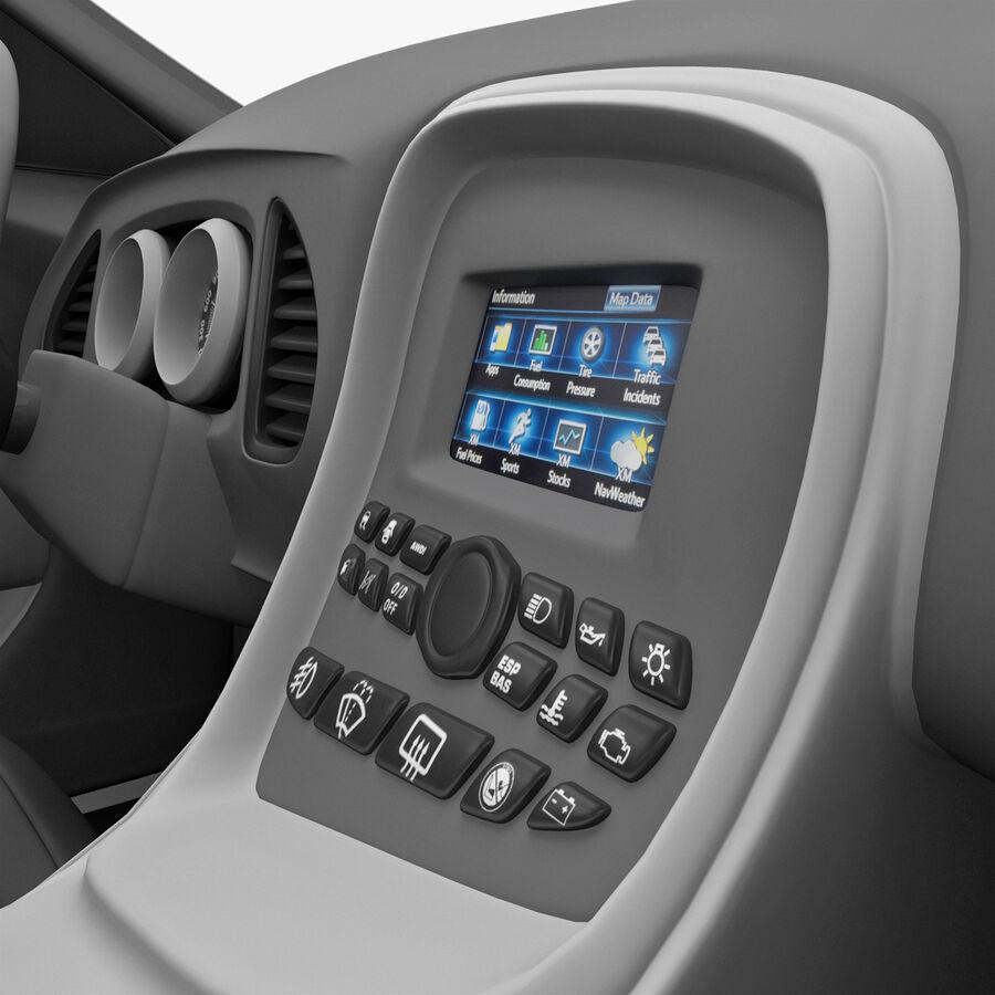 Kia Optima 2011 royalty-free 3d model - Preview no. 52