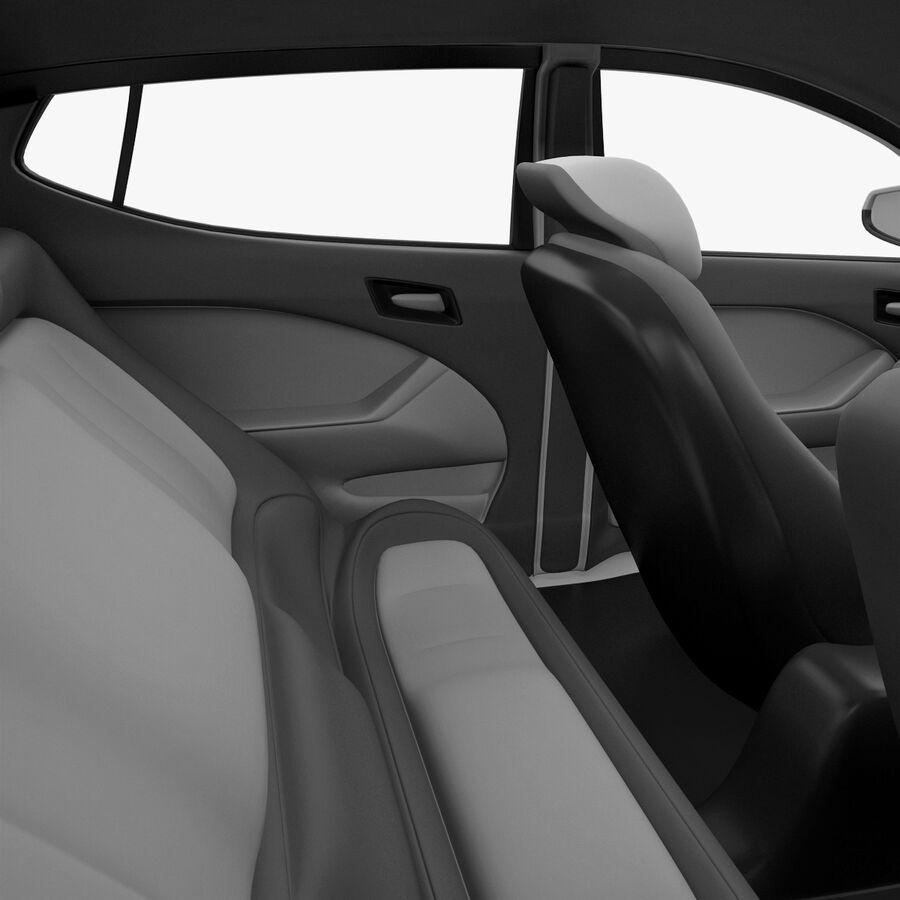 Kia Optima 2011 royalty-free 3d model - Preview no. 49