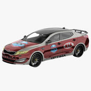 Kia Optima 2011 Pace Car 3d model