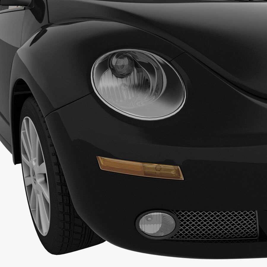 VW Beetle 1998 royalty-free 3d model - Preview no. 42
