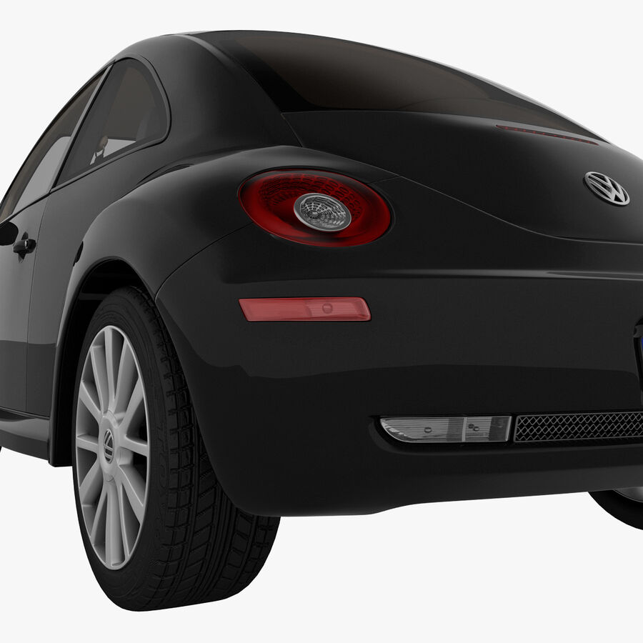 VW Beetle 1998 royalty-free 3d model - Preview no. 33