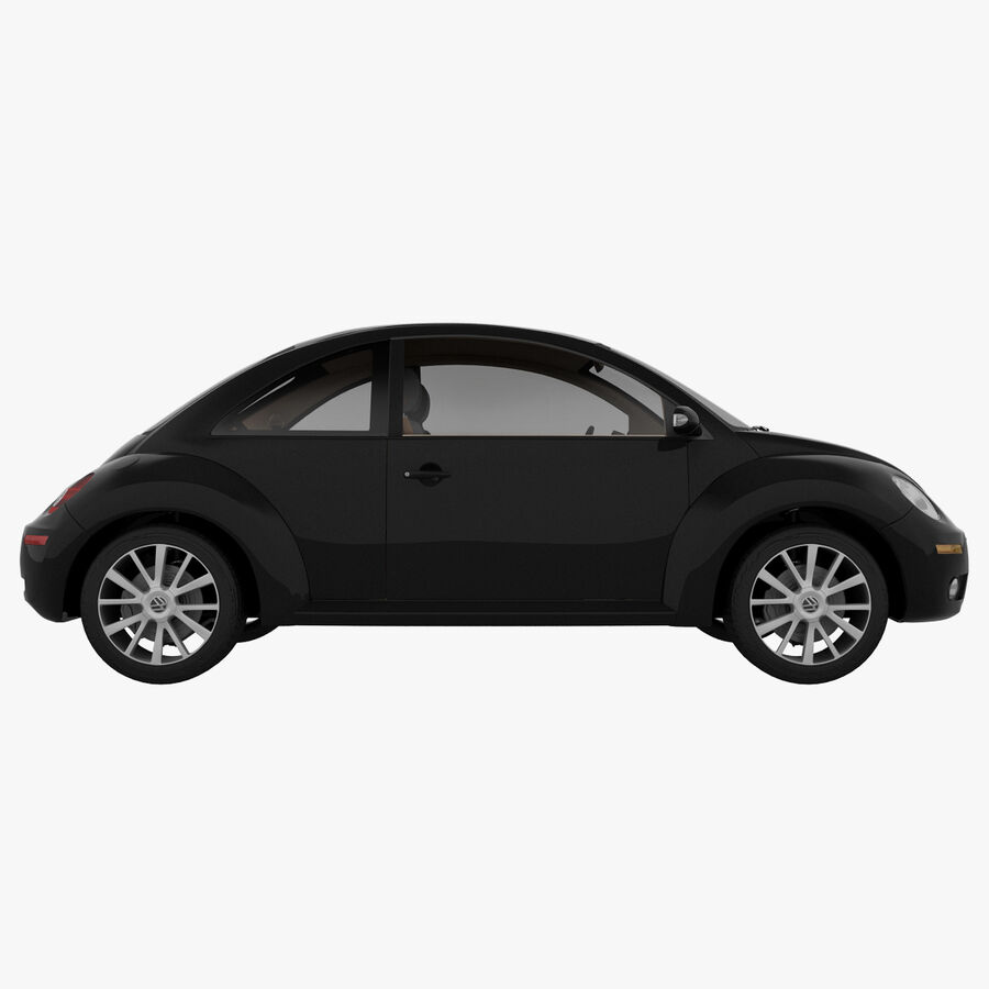 VW Beetle 1998 royalty-free 3d model - Preview no. 5