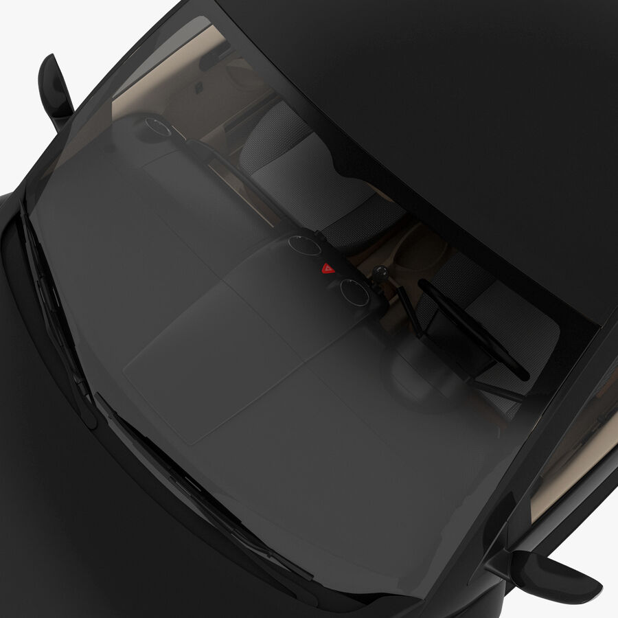 VW Beetle 1998 royalty-free 3d model - Preview no. 29
