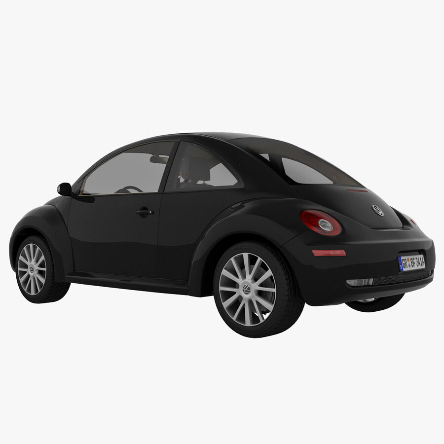 VW Beetle 1998 royalty-free 3d model - Preview no. 23