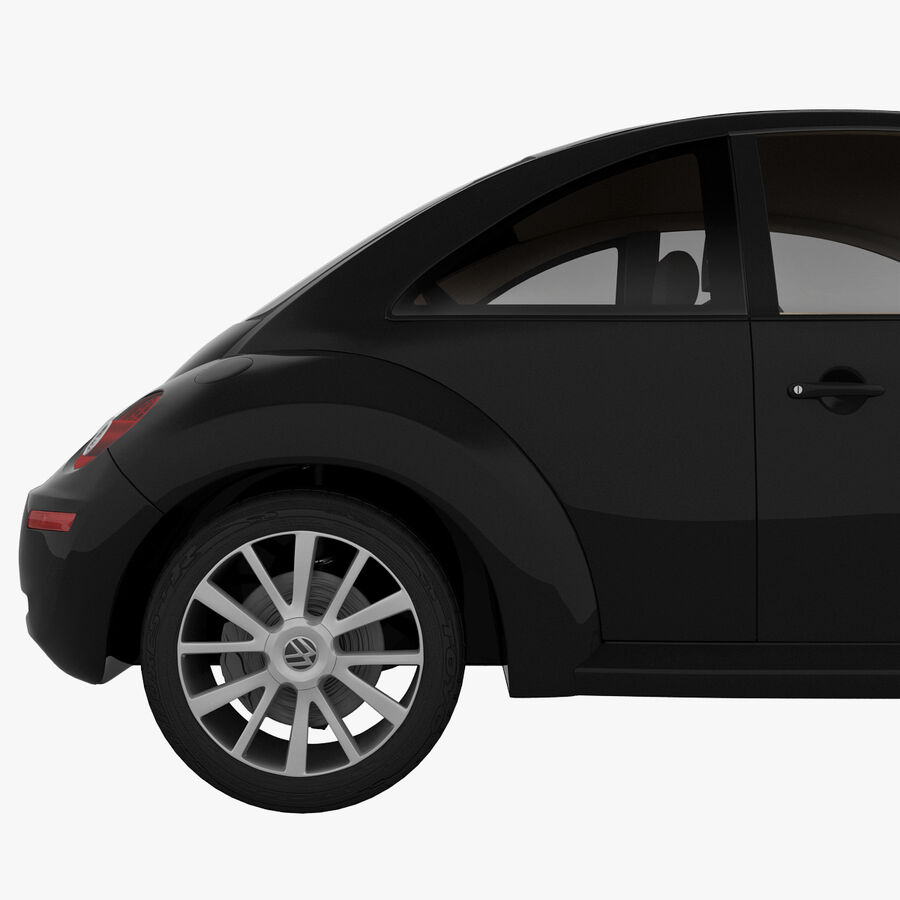 VW Beetle 1998 royalty-free 3d model - Preview no. 14