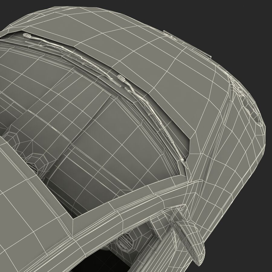 VW Beetle 1998 royalty-free 3d model - Preview no. 59