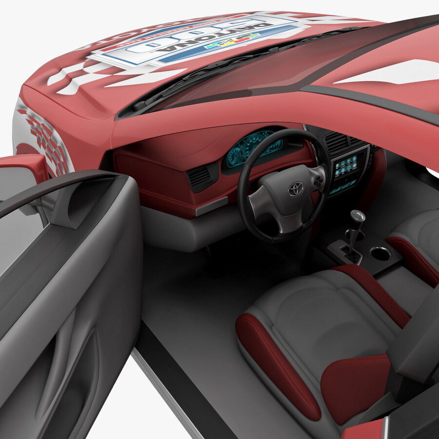 도요타 캠리 2012 페이스 카 royalty-free 3d model - Preview no. 72