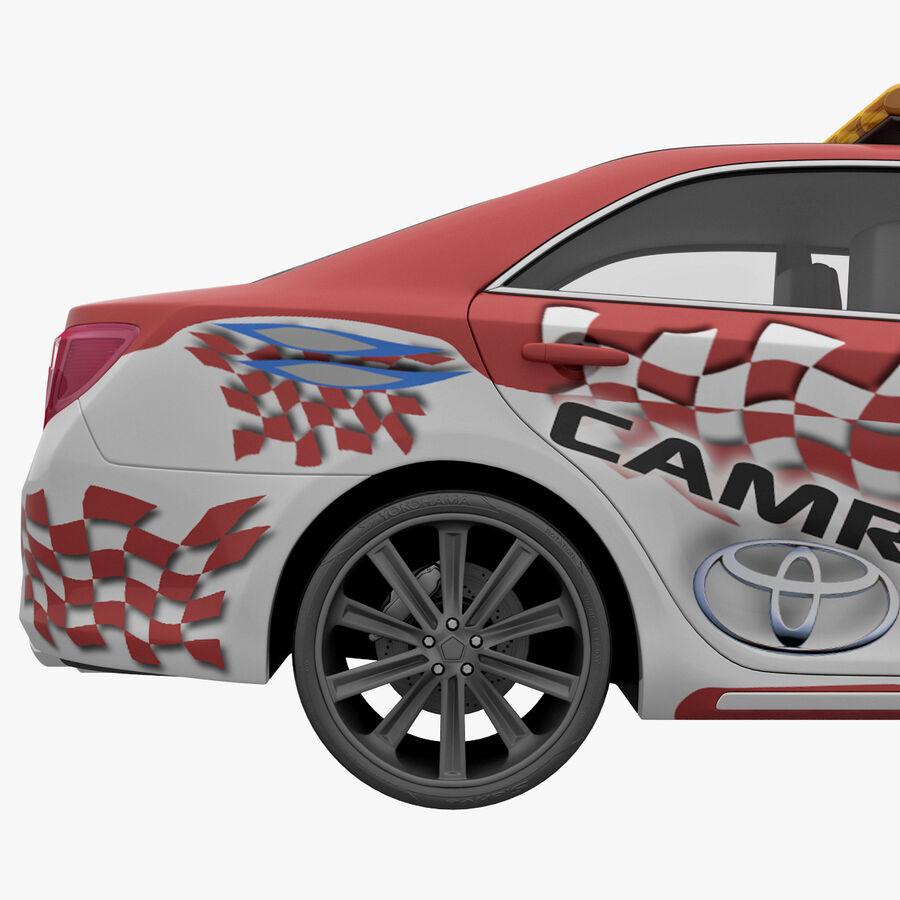 도요타 캠리 2012 페이스 카 royalty-free 3d model - Preview no. 14