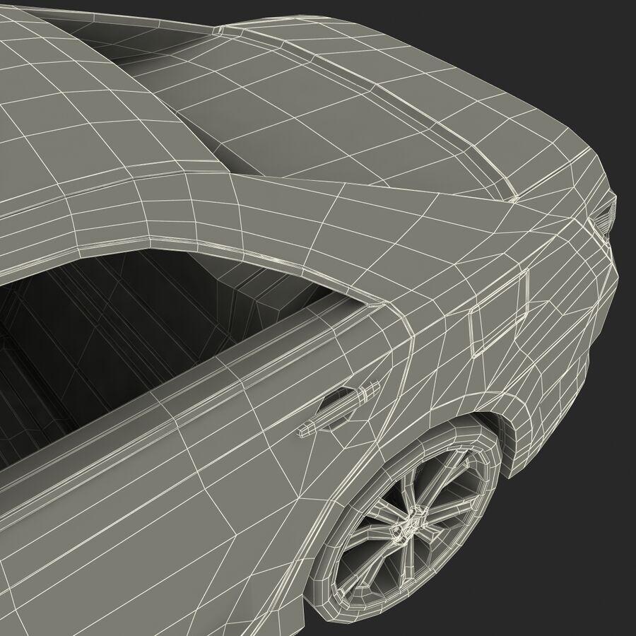 도요타 캠리 2012 페이스 카 royalty-free 3d model - Preview no. 88
