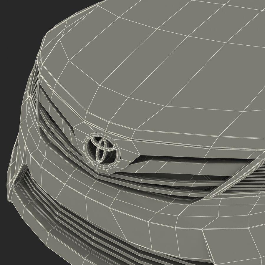 도요타 캠리 2012 페이스 카 royalty-free 3d model - Preview no. 90