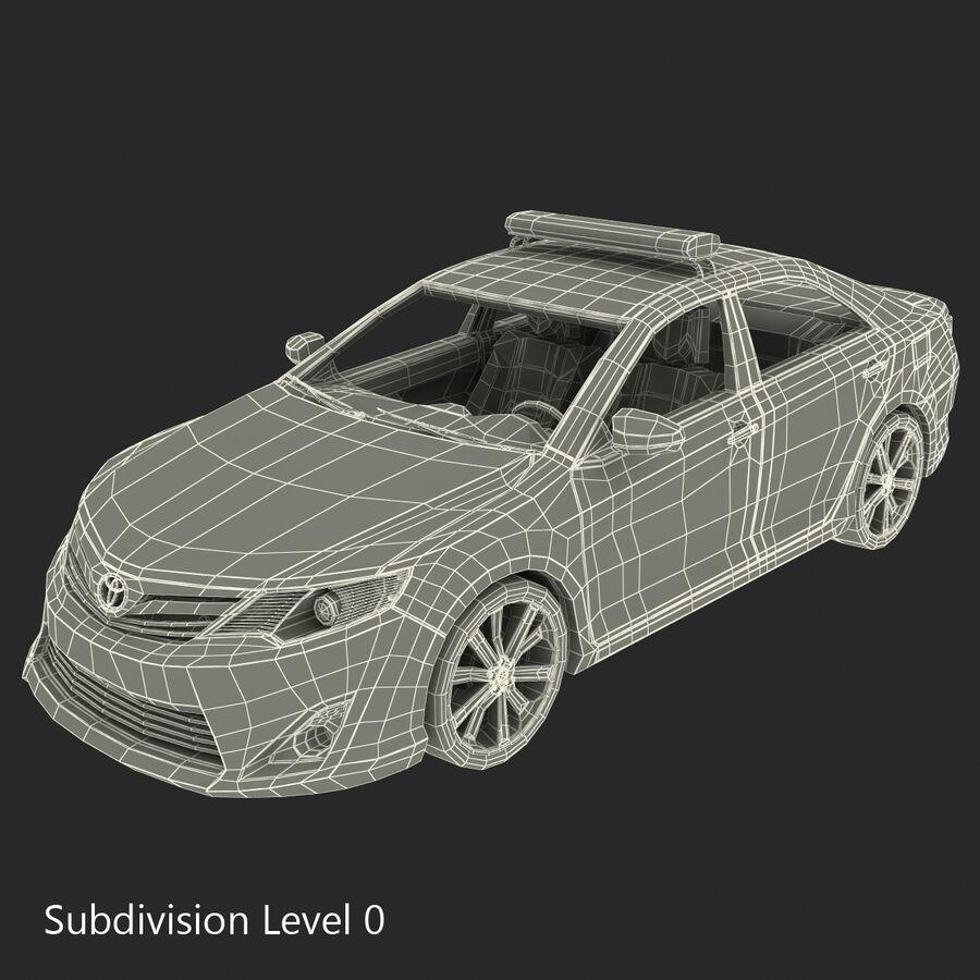도요타 캠리 2012 페이스 카 royalty-free 3d model - Preview no. 95