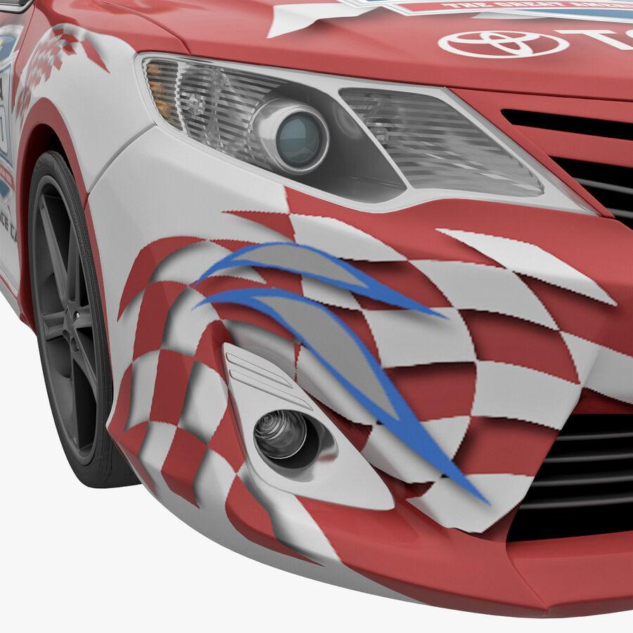 도요타 캠리 2012 페이스 카 royalty-free 3d model - Preview no. 42