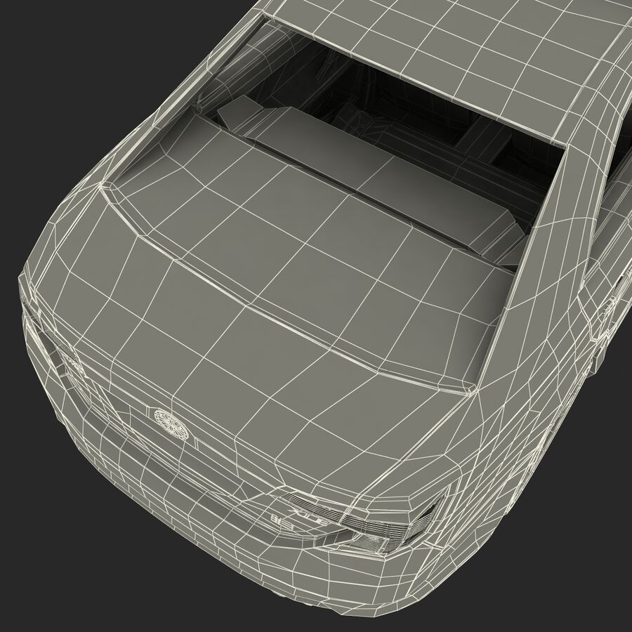 도요타 캠리 2012 페이스 카 royalty-free 3d model - Preview no. 86