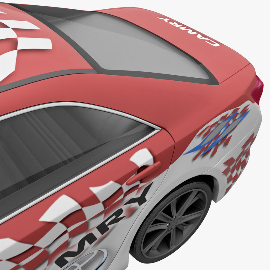 도요타 캠리 2012 페이스 카 royalty-free 3d model - Preview no. 37